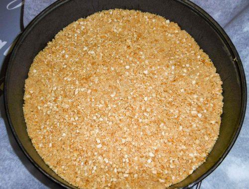 Base Cheesecake senza cottura - Piatto pronto