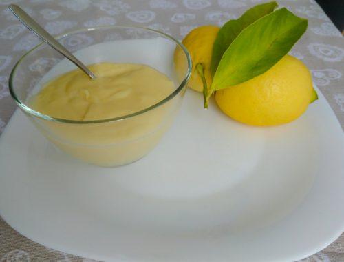 Crema al limone - Piatto pronto
