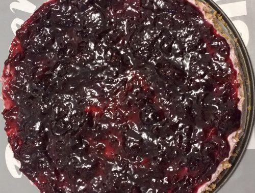 Cheesecake alla stracciatella e amarene - Piatto pronto