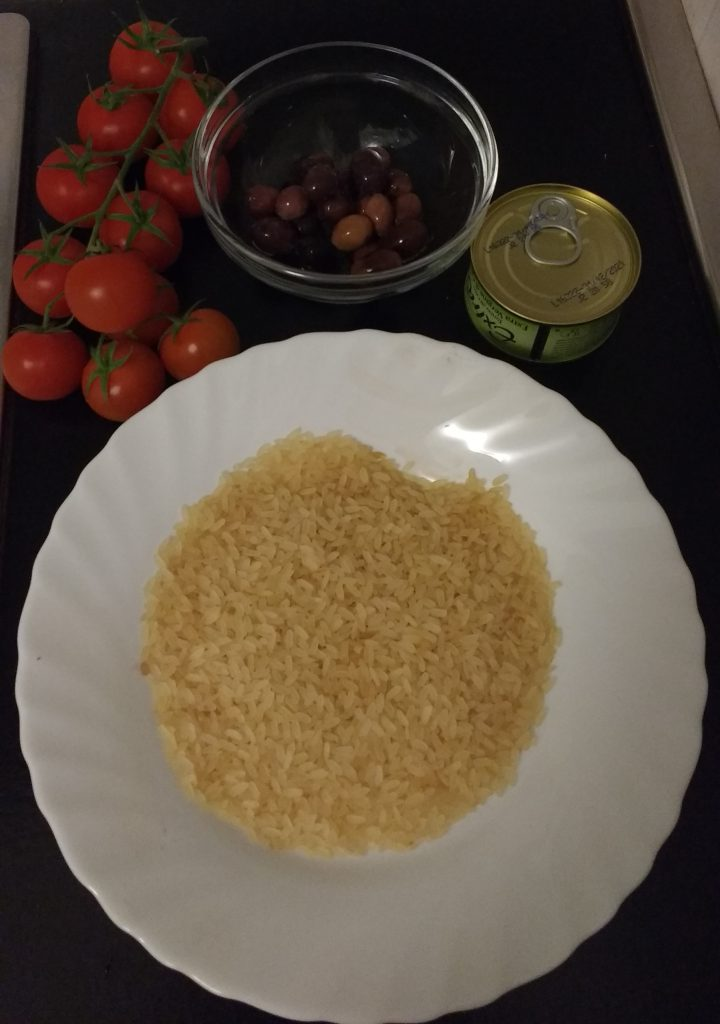 Insalata di riso - Ingredienti