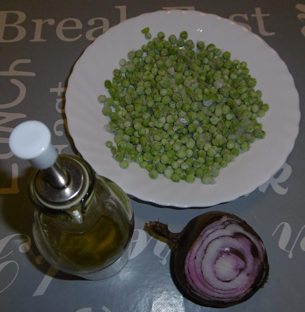 Piselli nella pentola a pressione - Ingredienti