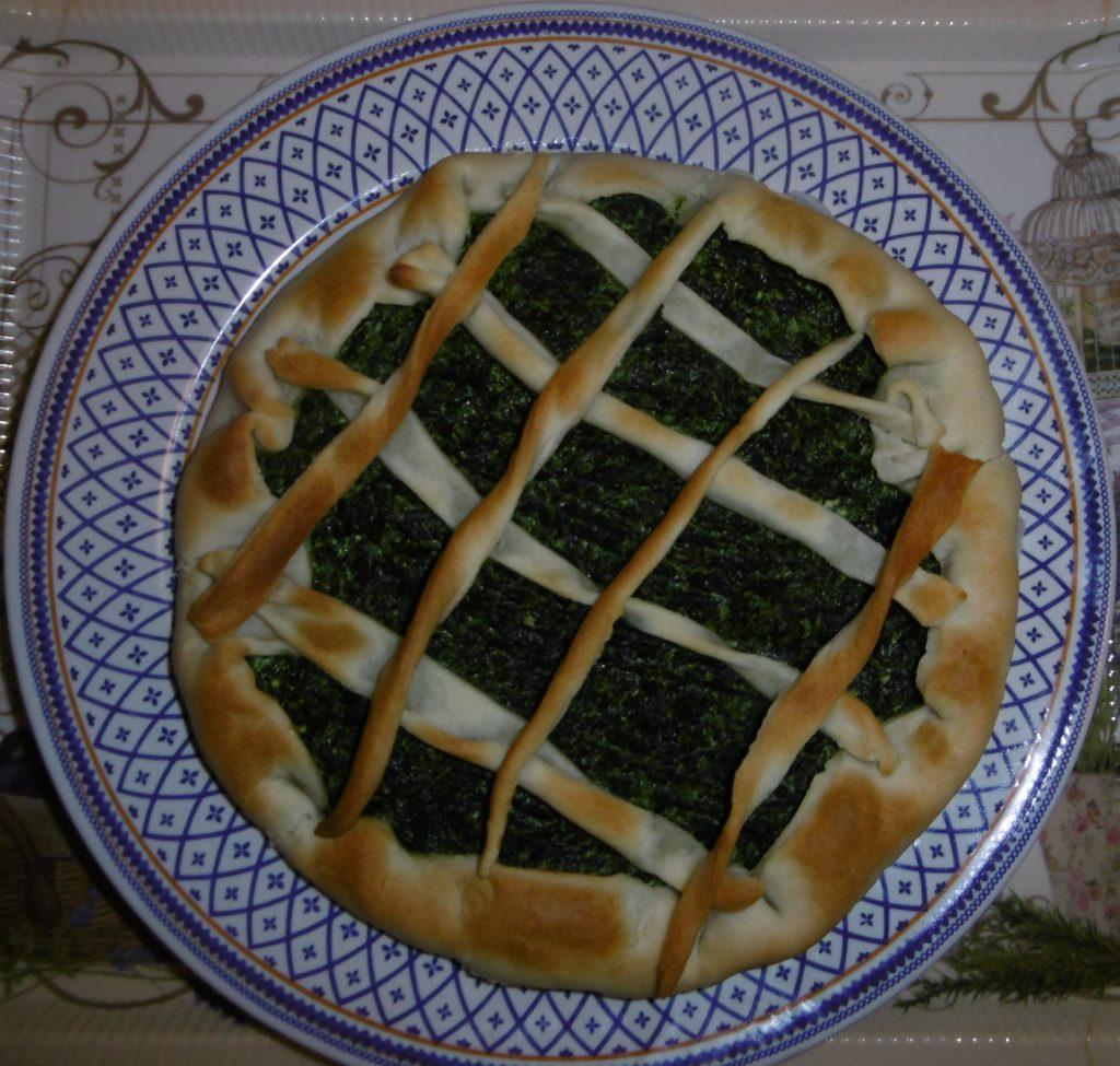 Torta salata ricotta e spinaci - Piatto pronto