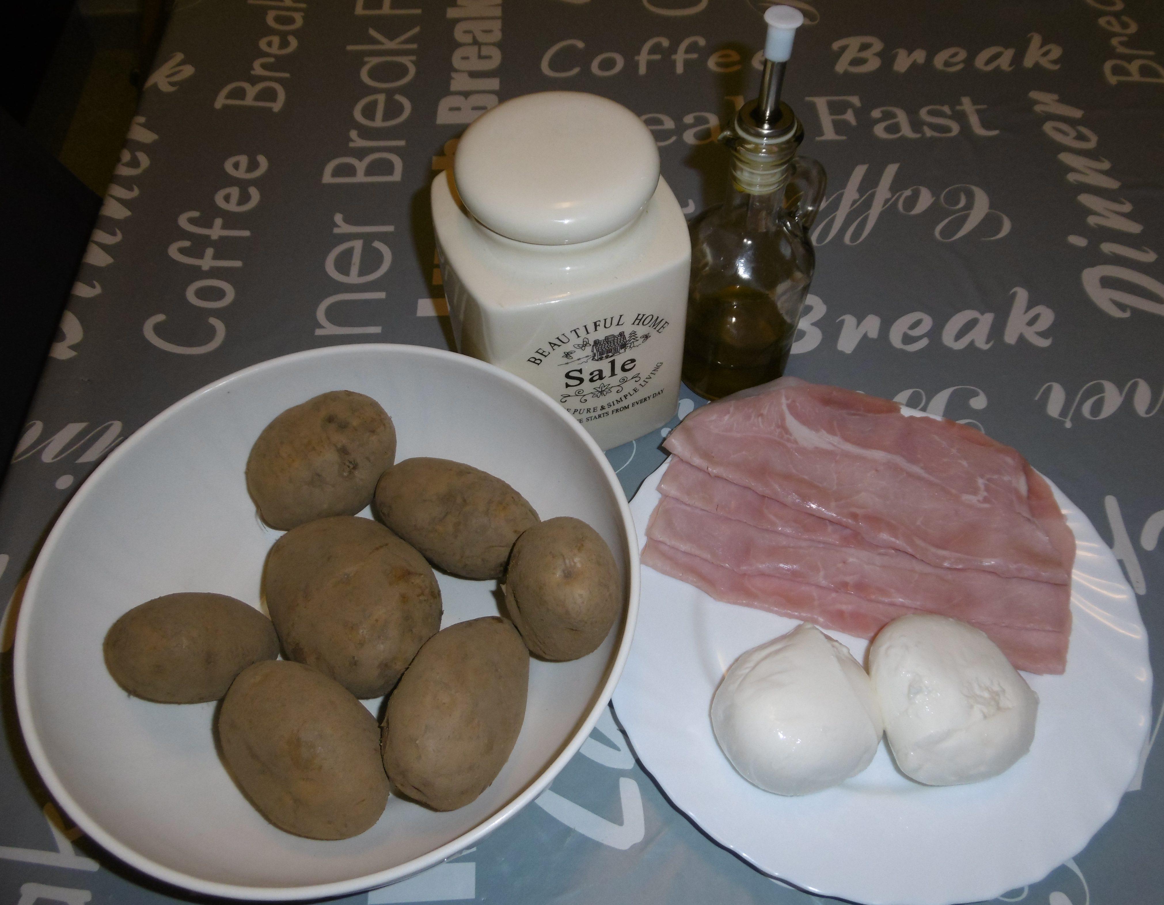 Lasagna di patate - Ingredienti