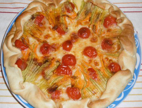 Torta salata fantasiosa - Piatto pronto