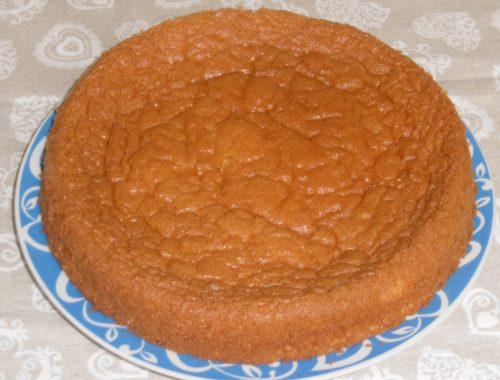 Pan di Spagna di TengoFame - Piatto pronto