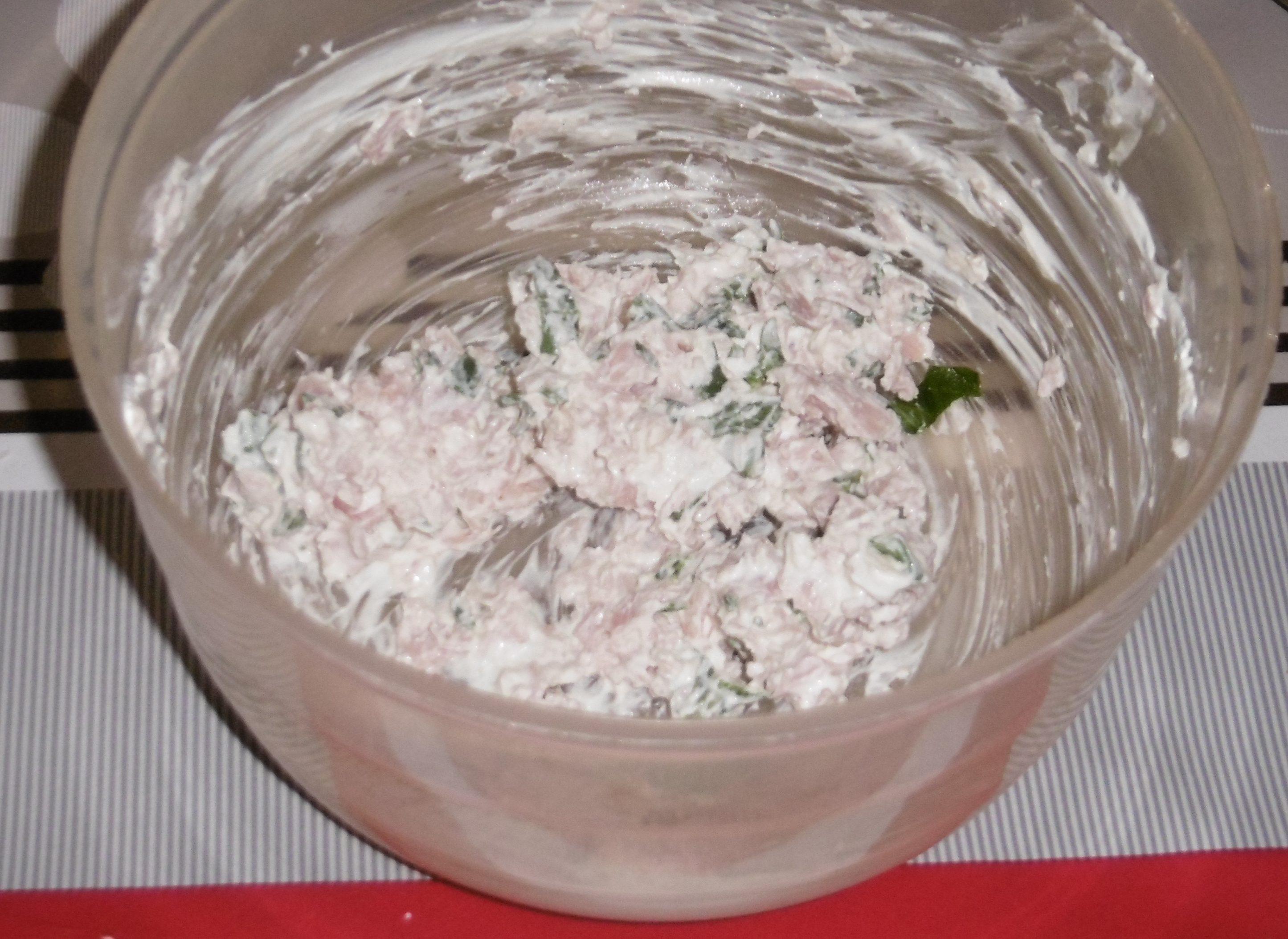 Cornetti salati ripieni - Formaggio e rucola