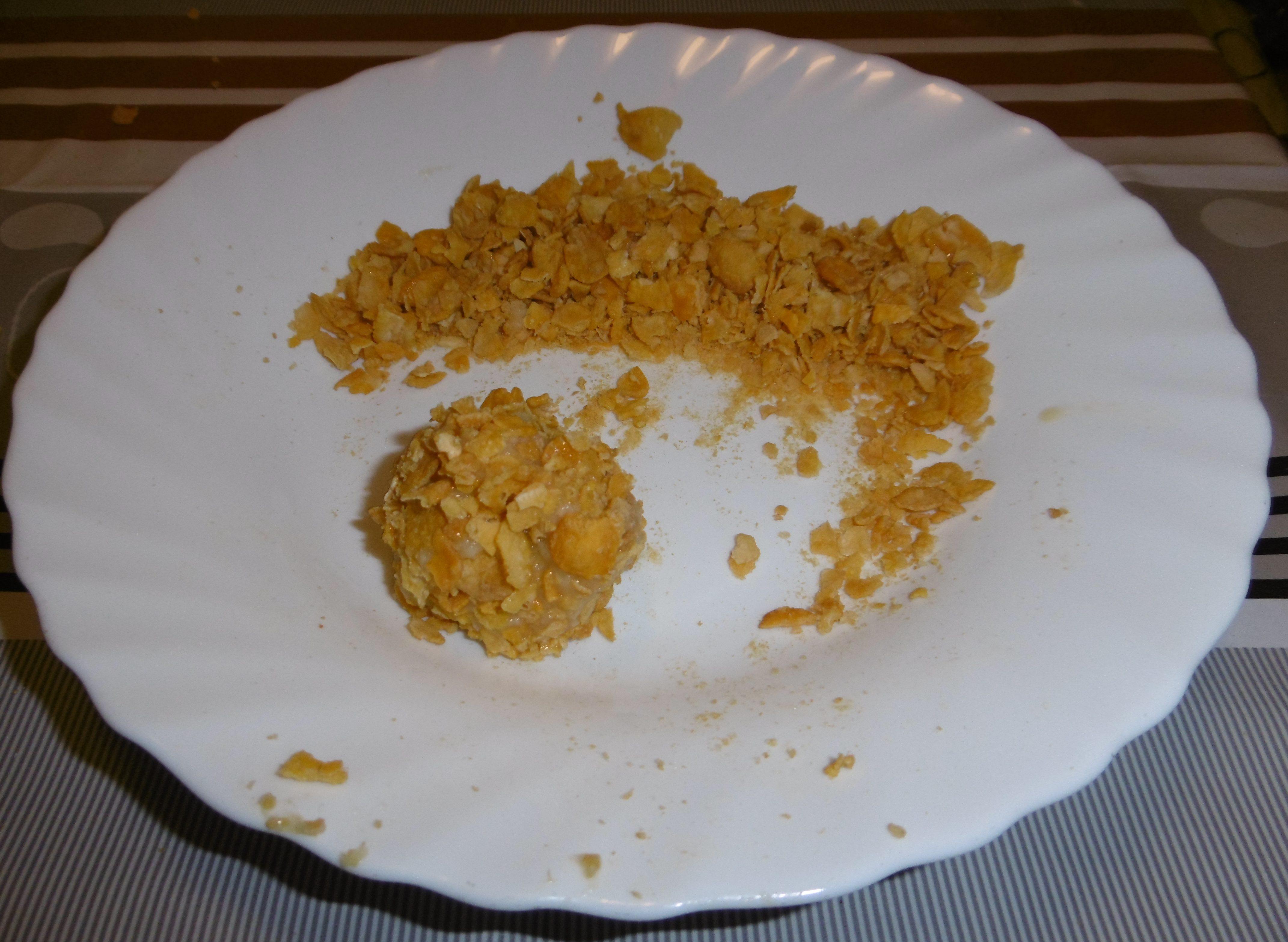 Polpette di verdure con corn flakes - Corn flakes