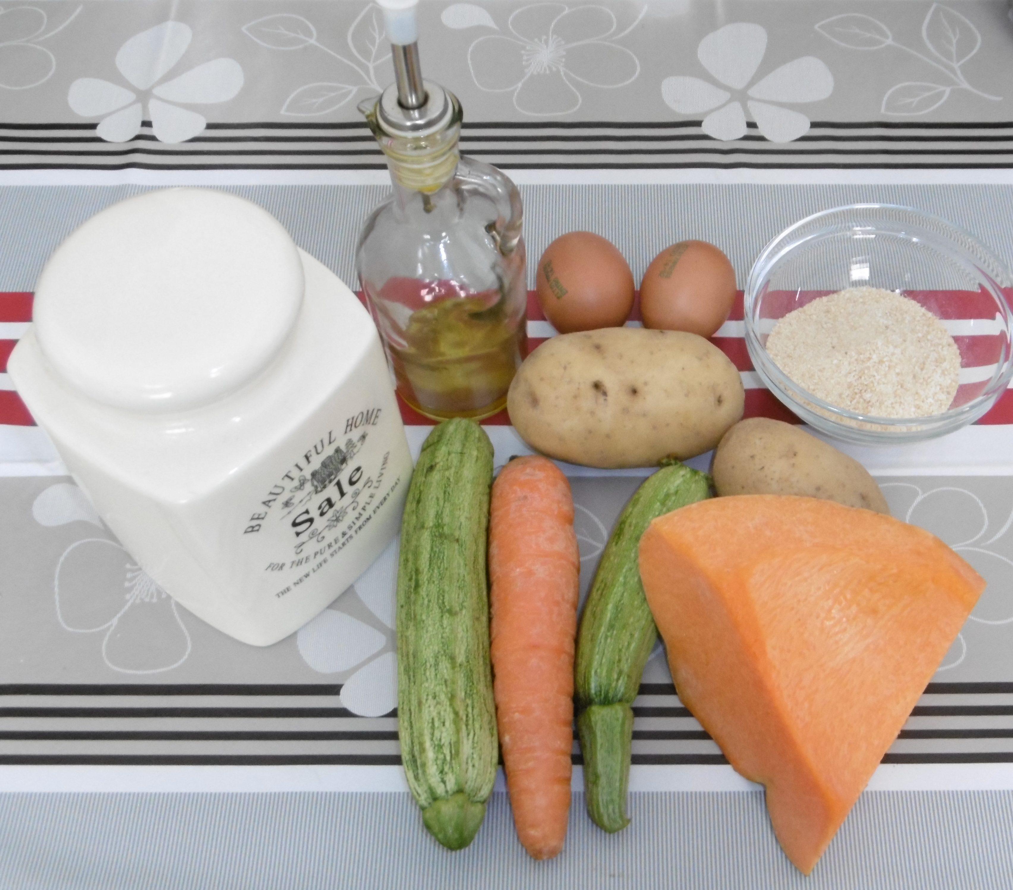Polpette di verdure con corn flakes - Ingredienti
