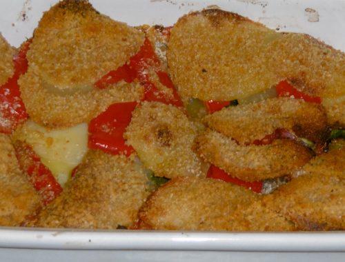 Verdure miste gratinate - Piatto pronto
