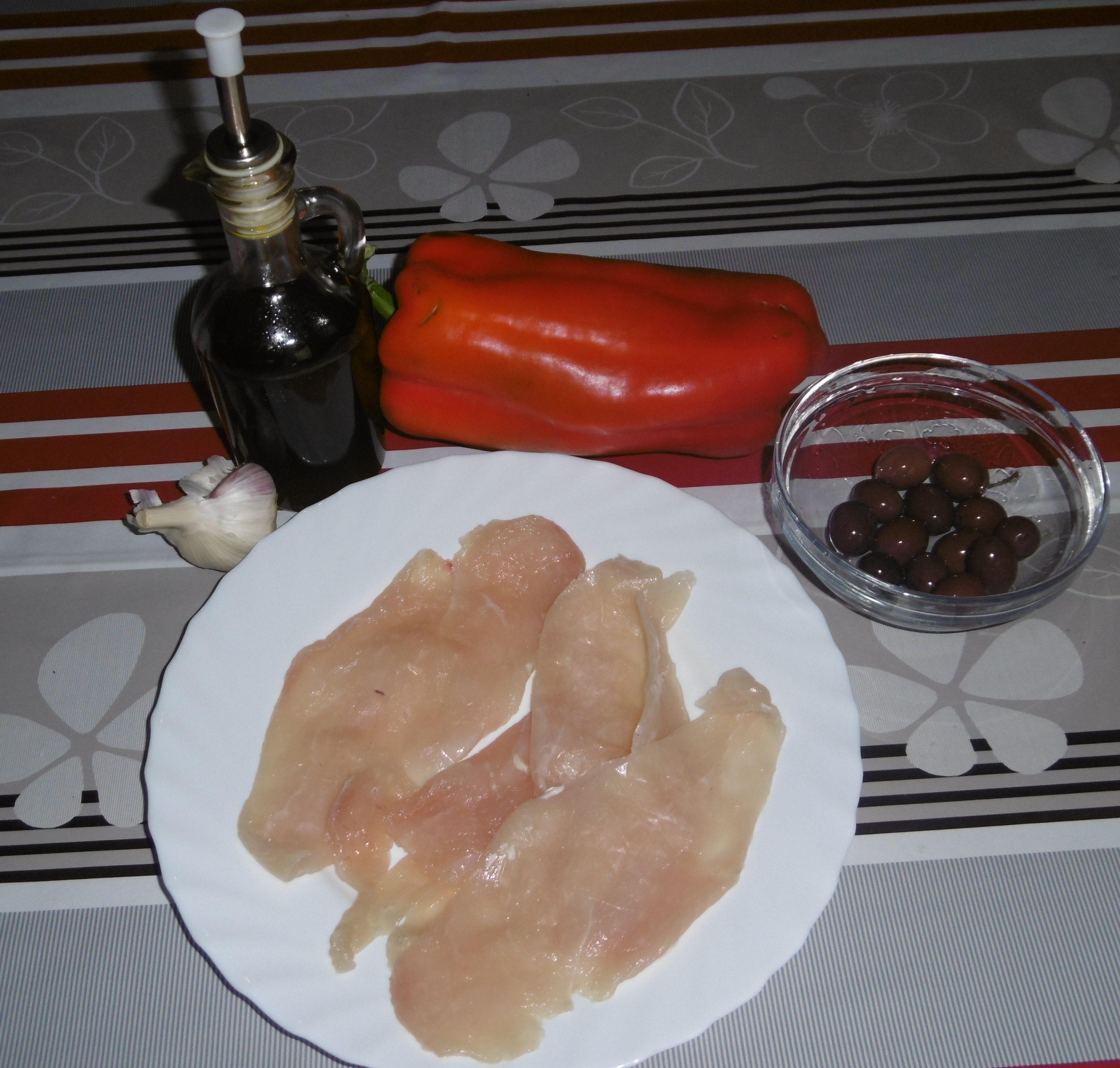Straccetti di pollo con peperoni - Ingredienti