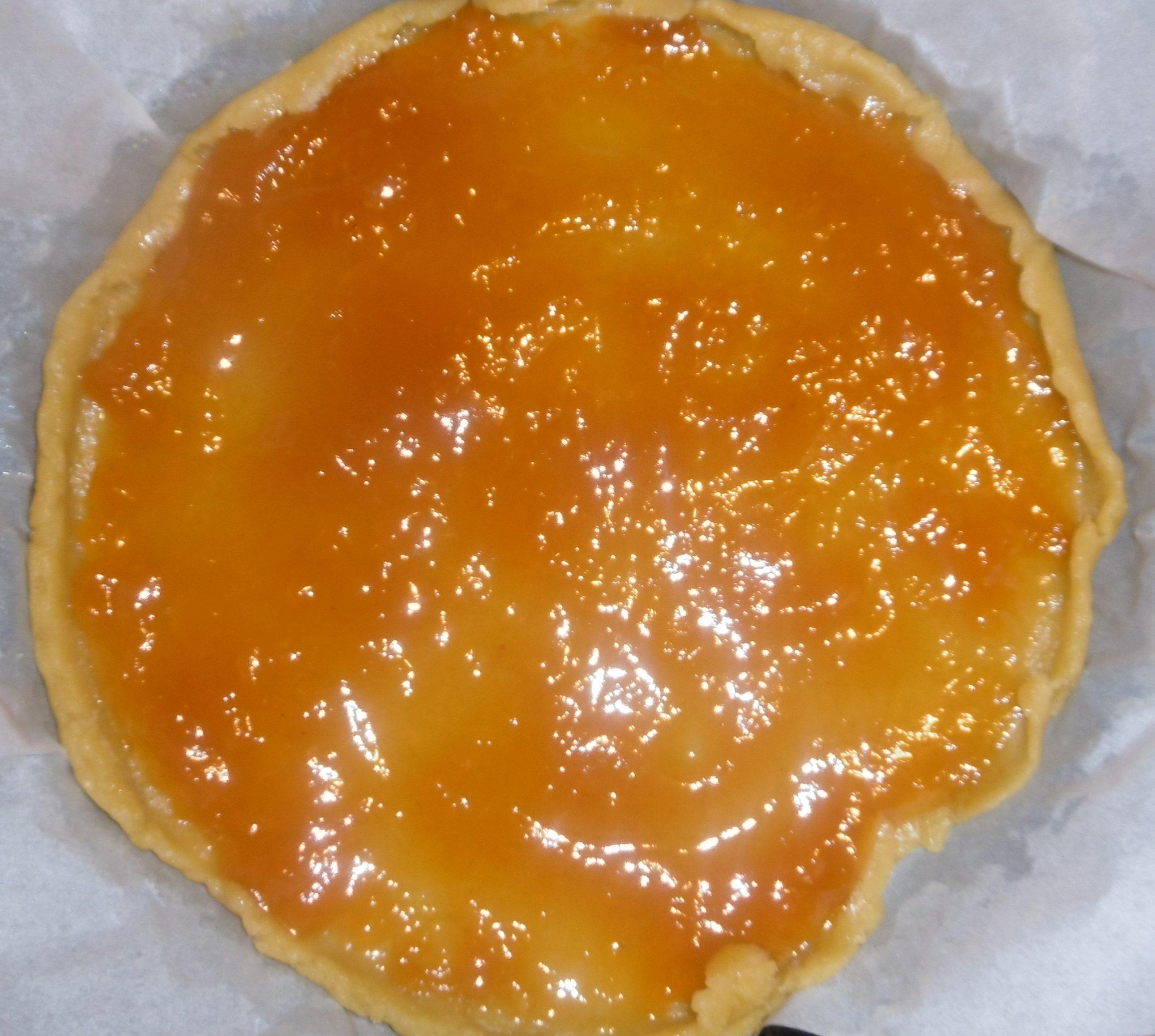 Crostata di marmellata senza burro - Aggiunta marmellata