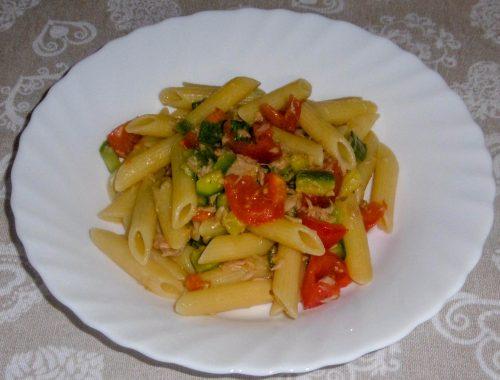 Pasta con tonno e zucchine - Piatto pronto