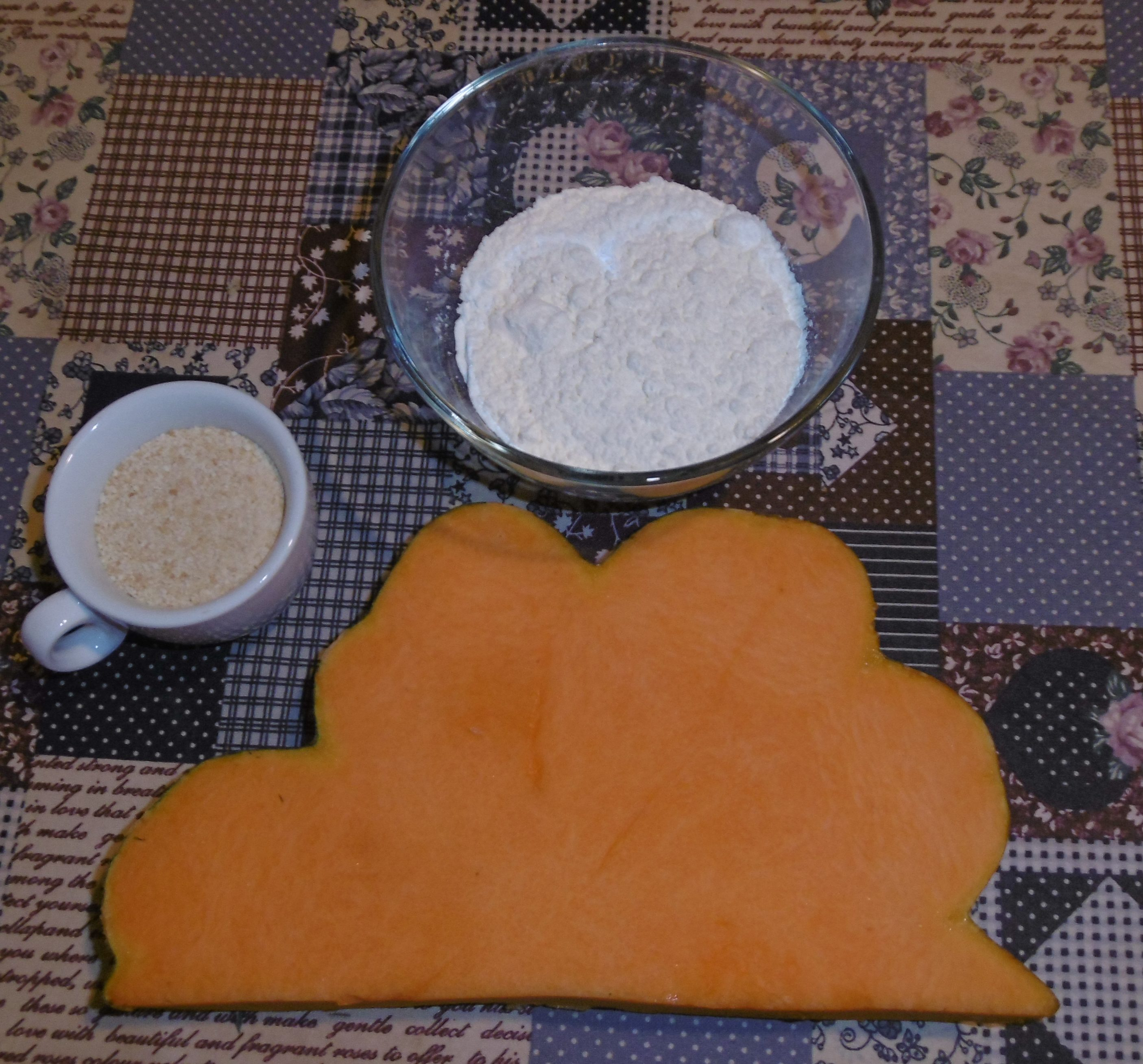 Zucca al forno - Ingredienti