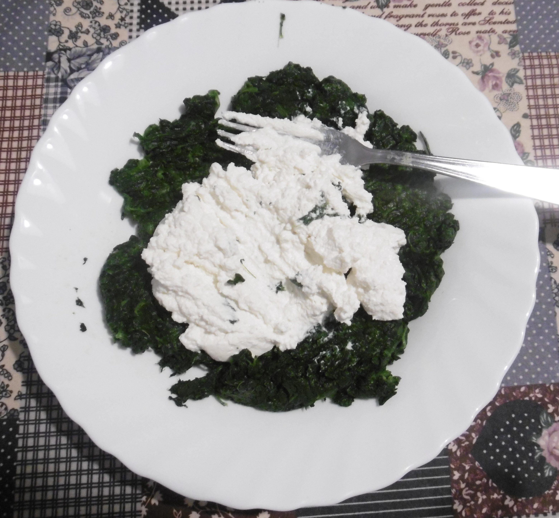 Cannelloni ricotta e spinaci - Aggiunta ingredienti