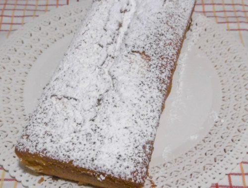 Plumcake con crema di nocciole - Piatto pronto