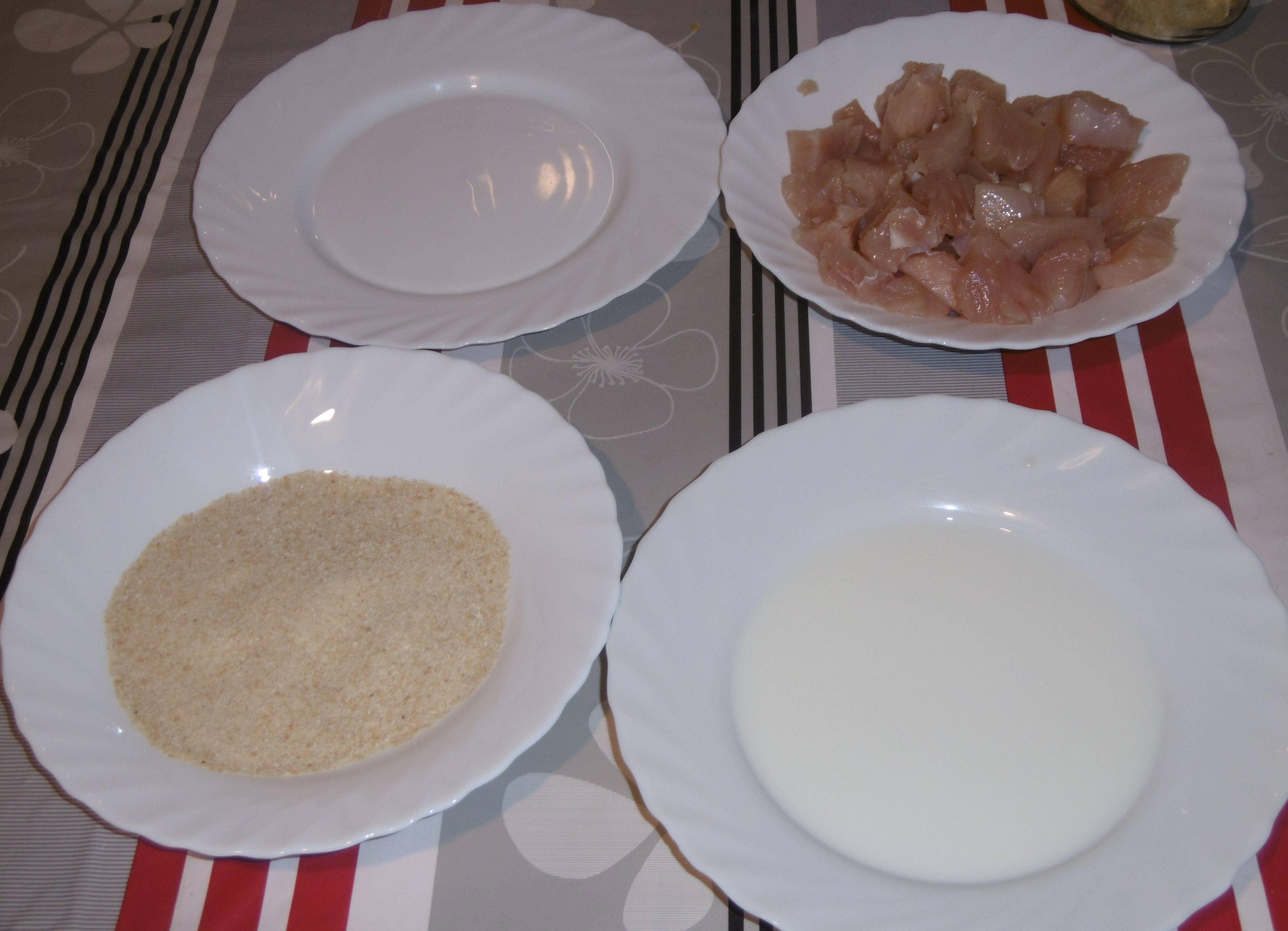 Bocconcini di pollo impanati al CRISP - Preparazione
