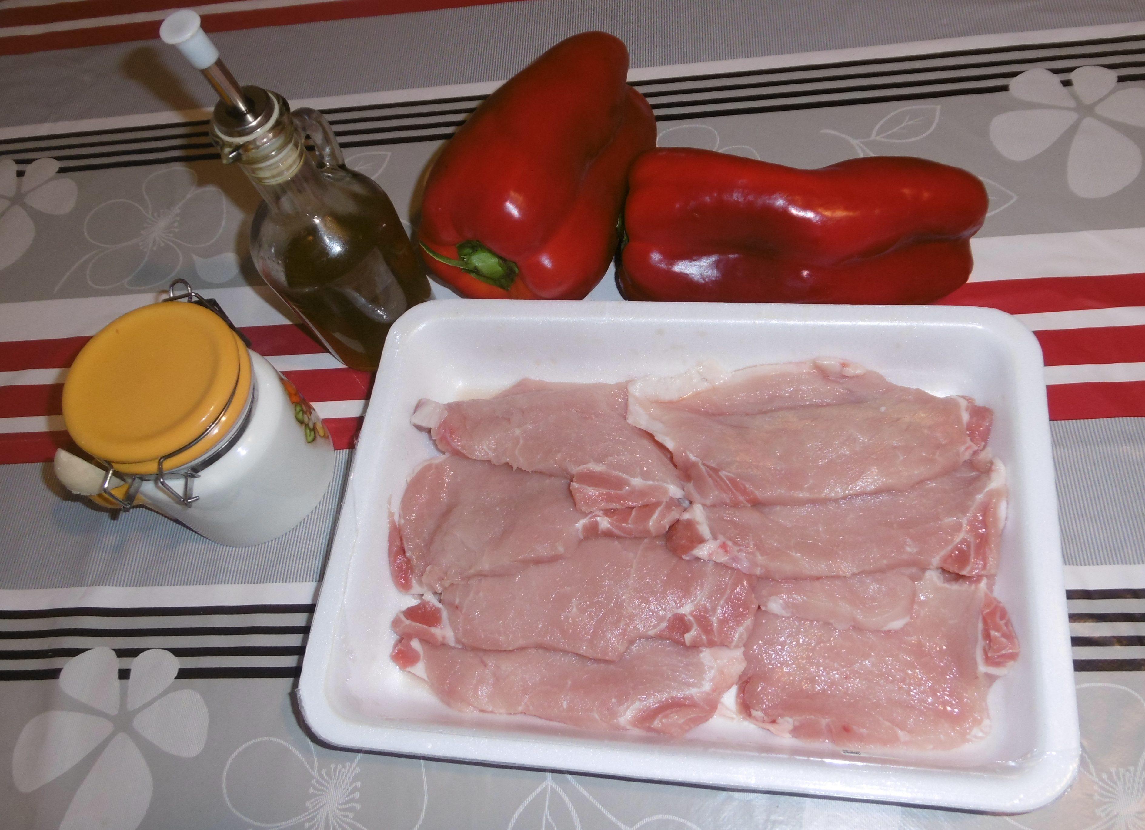 Arista con peperoni - Ingredienti