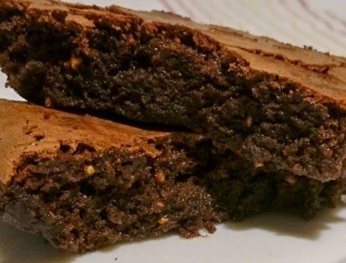 Brownies al cioccolato e nocciole - Piatto pronto