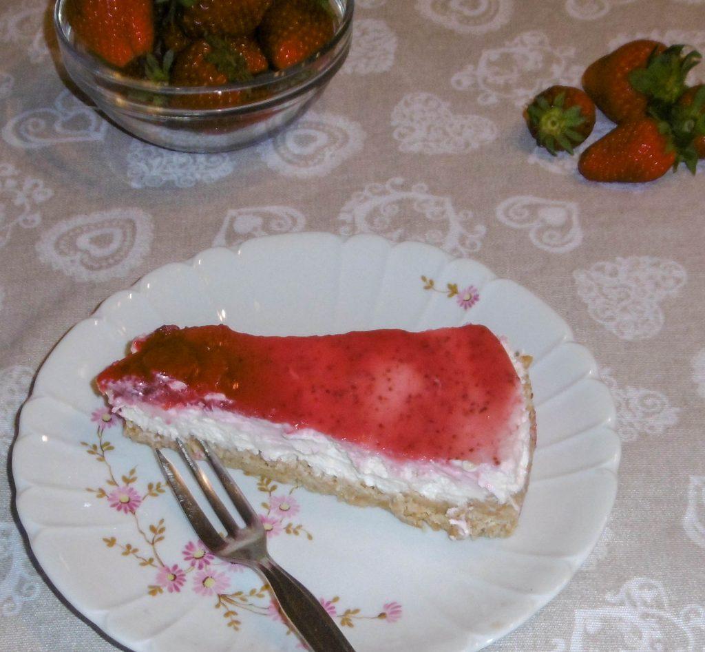 Cheesecake alle fragole - Piatto pronto