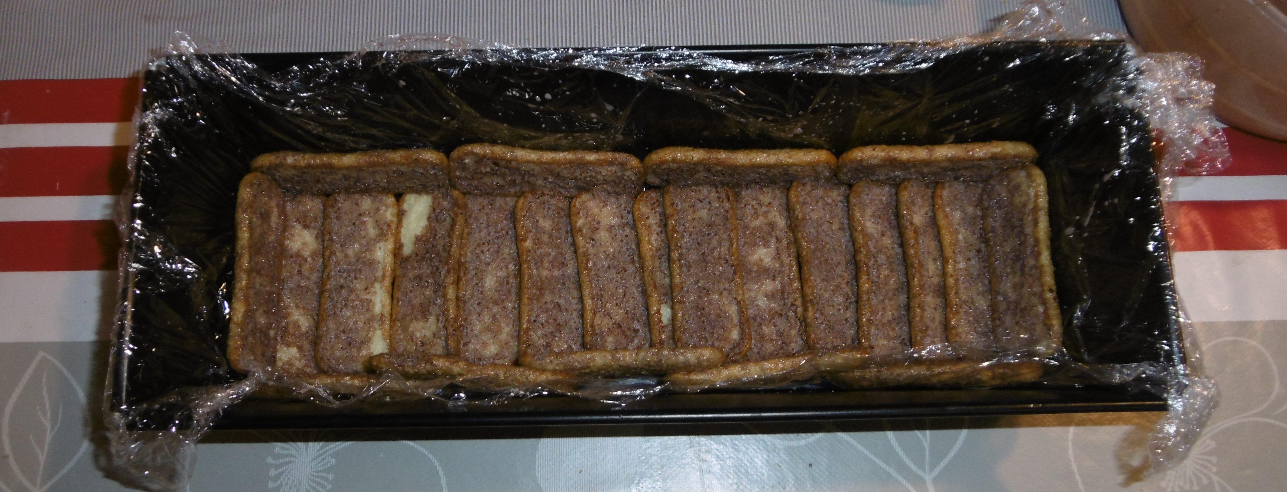 Semifreddo con pavesini, mascarpone e crema pan di stelle - Pavesini in teglia