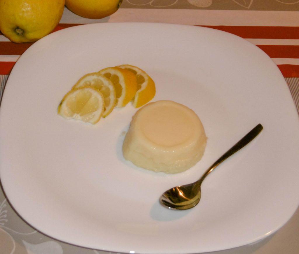 Budino al profumo di limone - Piatto pronto