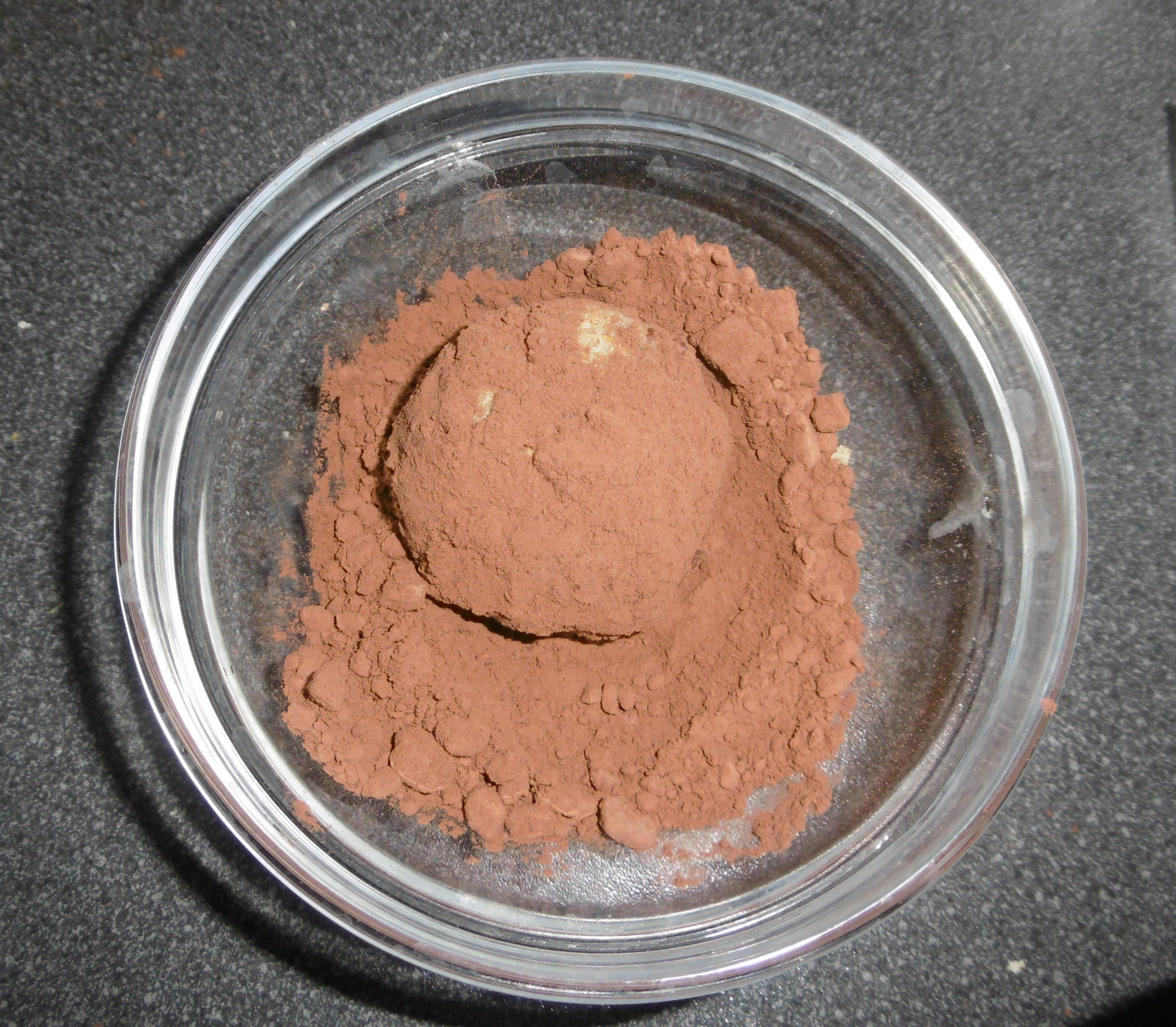 Palline di biscotti al cioccolato - Cacao amaro