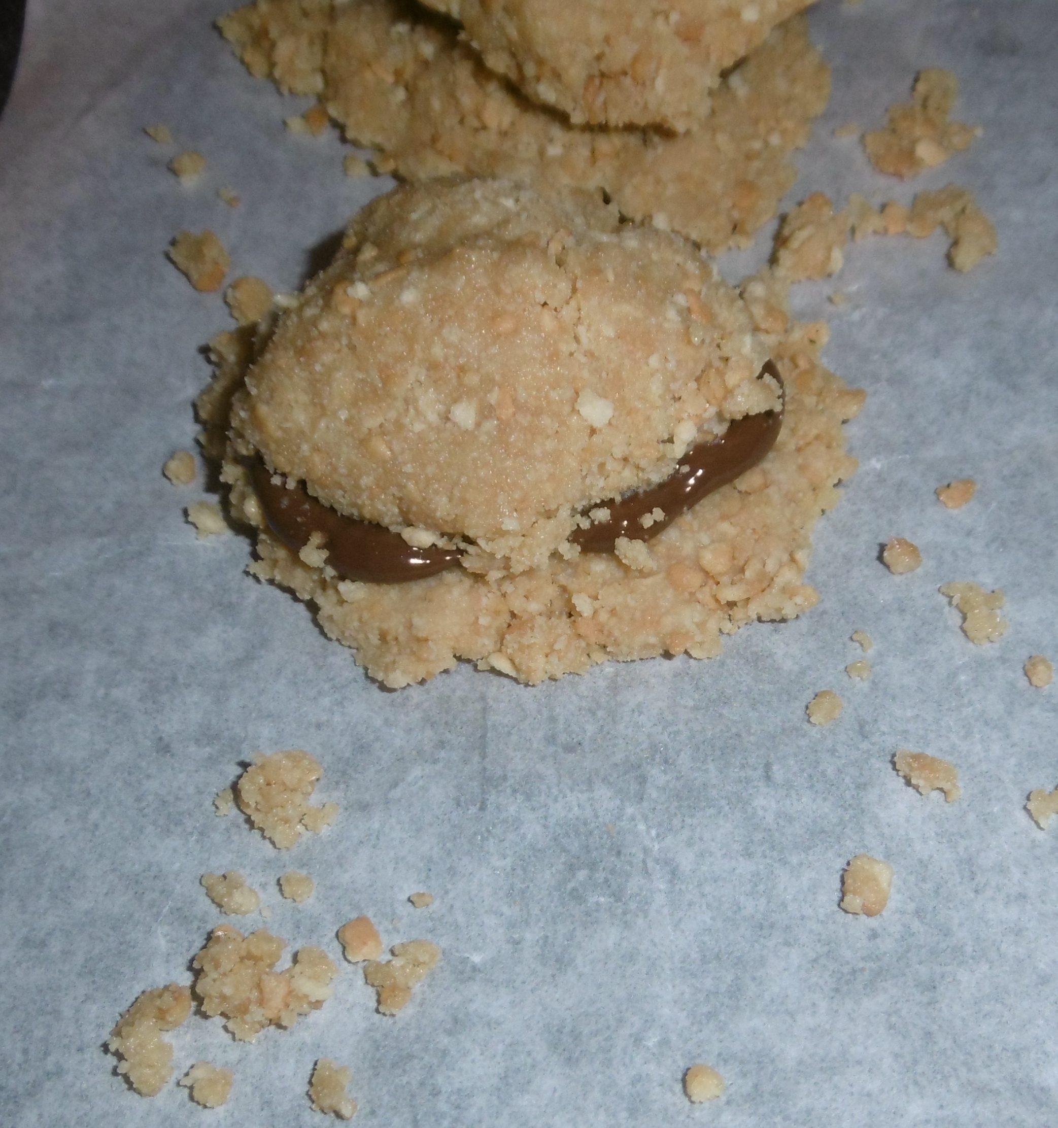 Palline di biscotti al cioccolato - Copertura