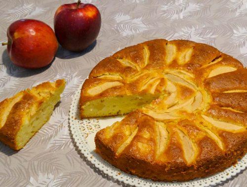 Torta di mele e yogurt - Piatto pronto